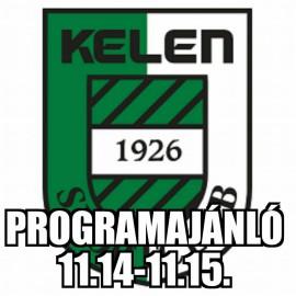 Hétvégi Programajánló (11.14-11.15.)