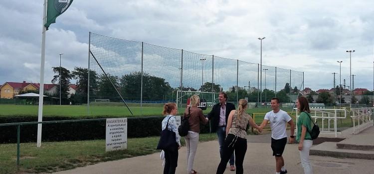UEFA VIP látogatás a Kelenen