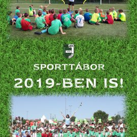 Sporttábor 2019-ben is!