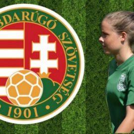 Árvay Hanna az U16-os női válogatottban!